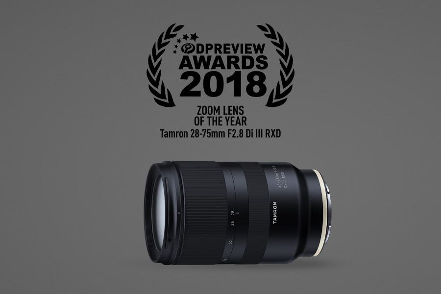 Tamron Wins 2018 DPReview Product of the Year Award - Tamron
